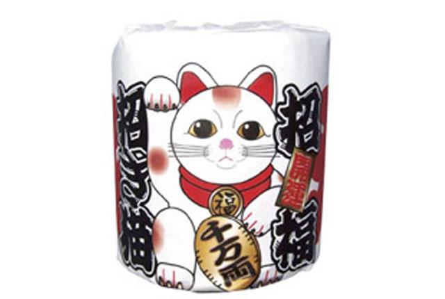 粗品・景品・ノベルティ・記念品の粗品屋本舗 招福開運招き猫ロール
